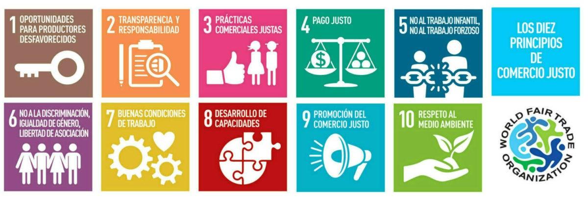 imagen principios comercio justo