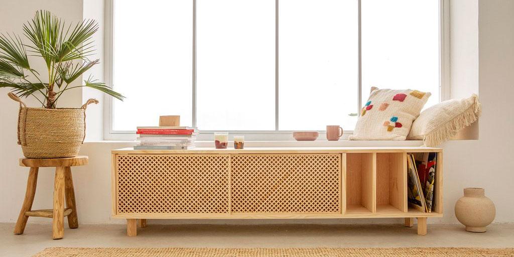 Naan Furniture. Muebles hechos de forma sostenible