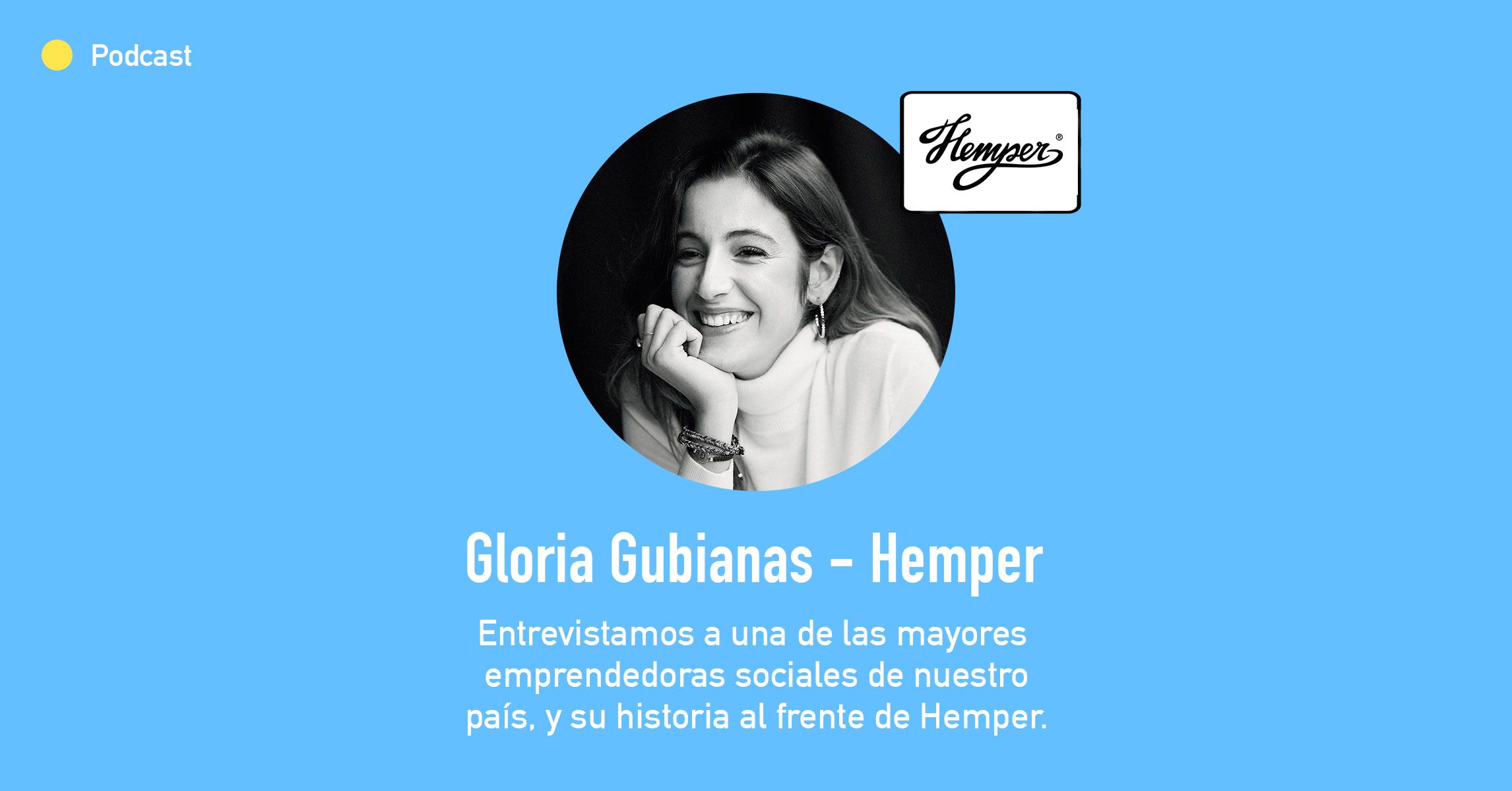 Entrevista con Gloria Gubianas, Co-Fundadora de la marca de mochilas sostenibles Hemper