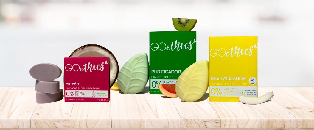 GOethics, barras de cosmética sólida sin plásticos para tu día a día