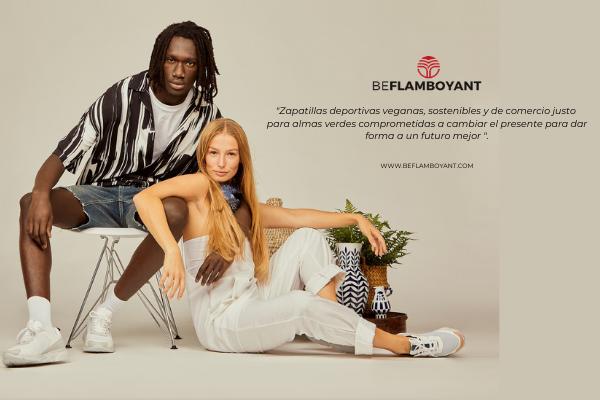 Beflamboyant. Zapatillas Veganas, Sostenibles y Unisex