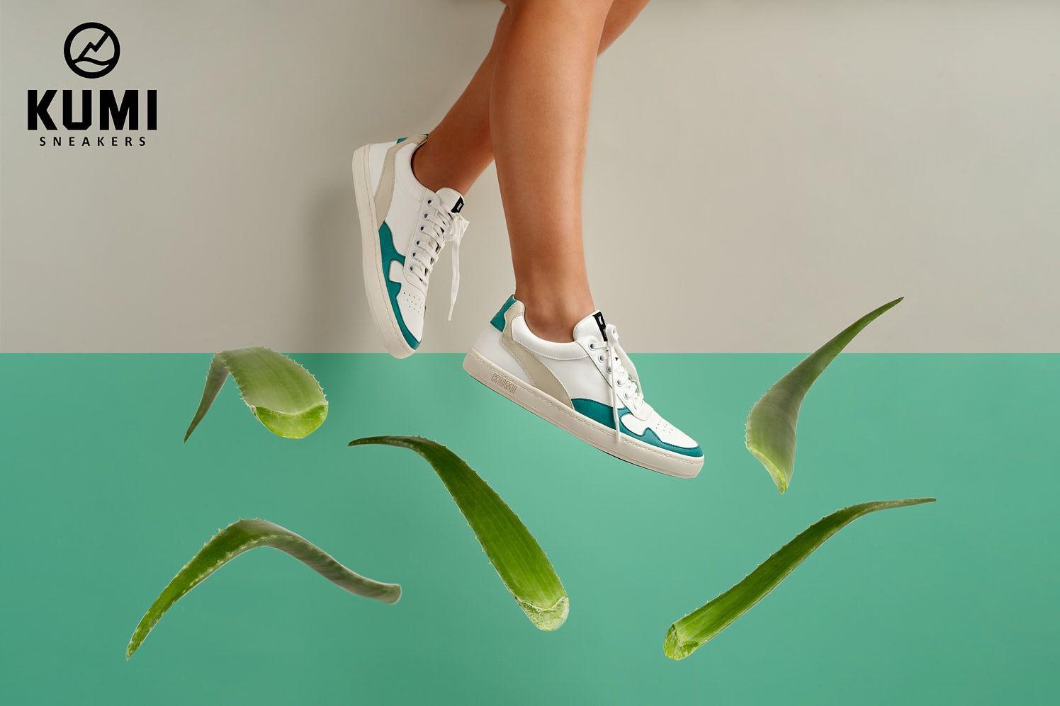 Descubriendo las zapatillas sostenibles y veganas Kumi Sneakers