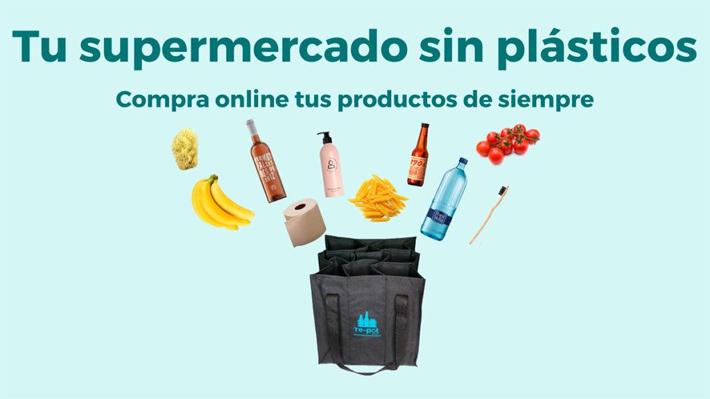Re-pot market, el Supermercado Online sin Plásticos