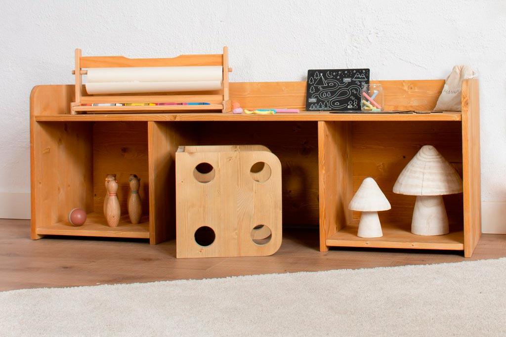 Hannun lanza su línea de muebles sostenibles para niñas y niños «Montessori Kids», bajo los principios del famoso método educativo