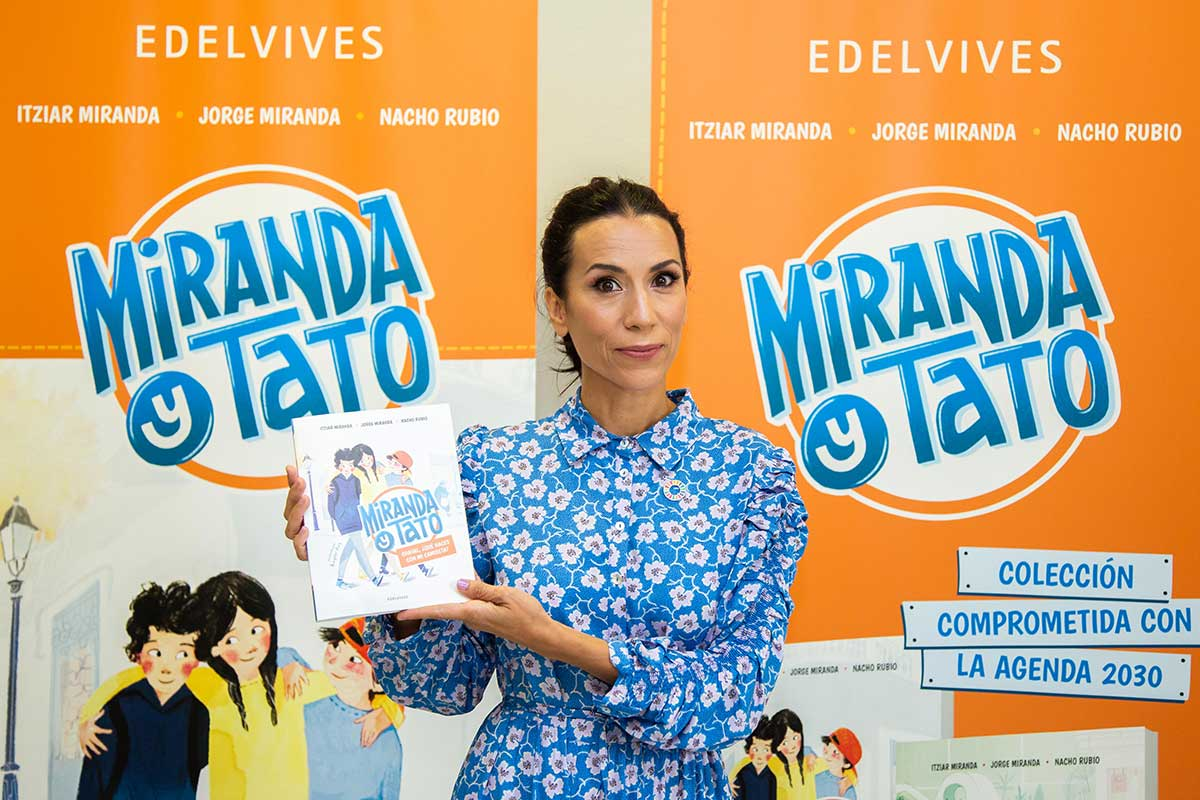 La escritora Itziar Miranda presentará en la Feria del Libro de Madrid el libro «Miranda y Tato», una colección comprometida con los objetivos de desarrollo sostenible