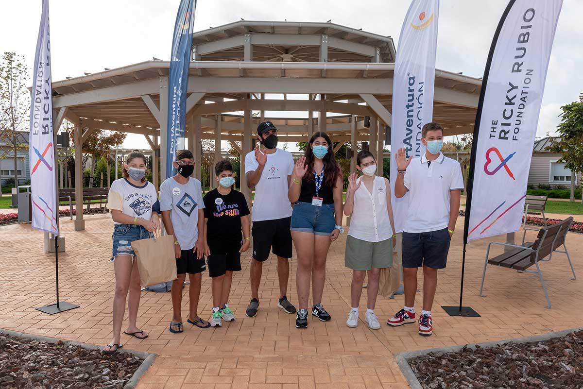 La Fundación PortAventura y la Fundación Ricky Rubio firman un acuerdo de colaboración para ayudar a familias con pacientes infantiles oncológicos