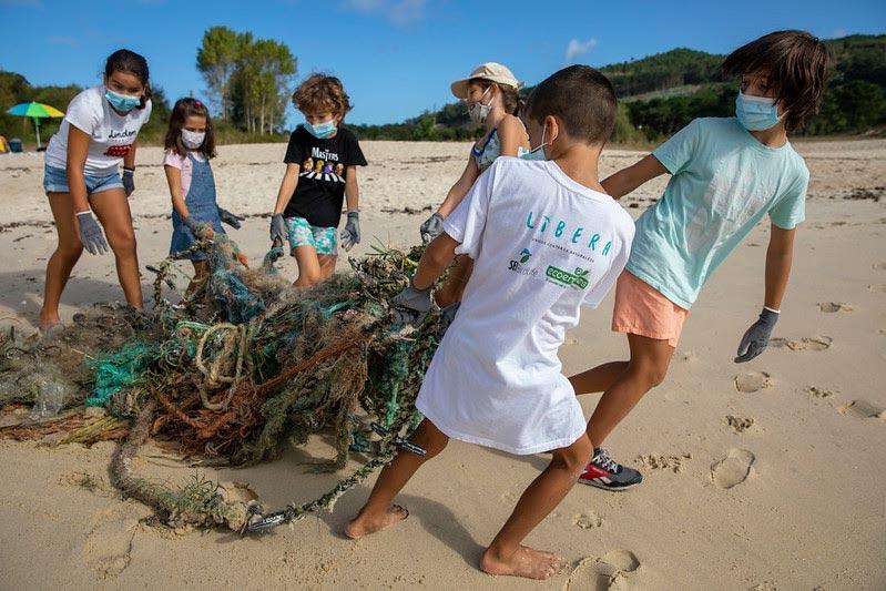 El Proyecto LIBERA caracteriza 61.483 residuos y recoge más de seis toneladas de basuraleza en 258 puntos de la costa española