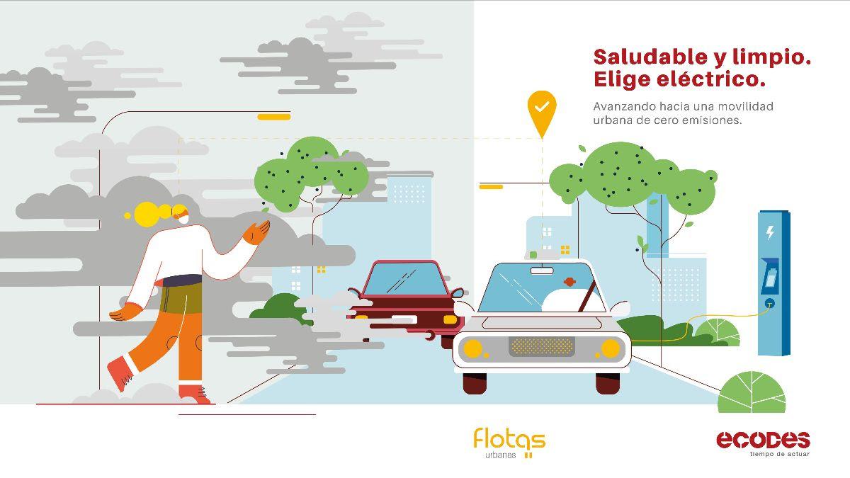 ECODES impulsa la electrificación de las flotas urbanas para mejorar la calidad del aire y contribuir a la transformación de la movilidad