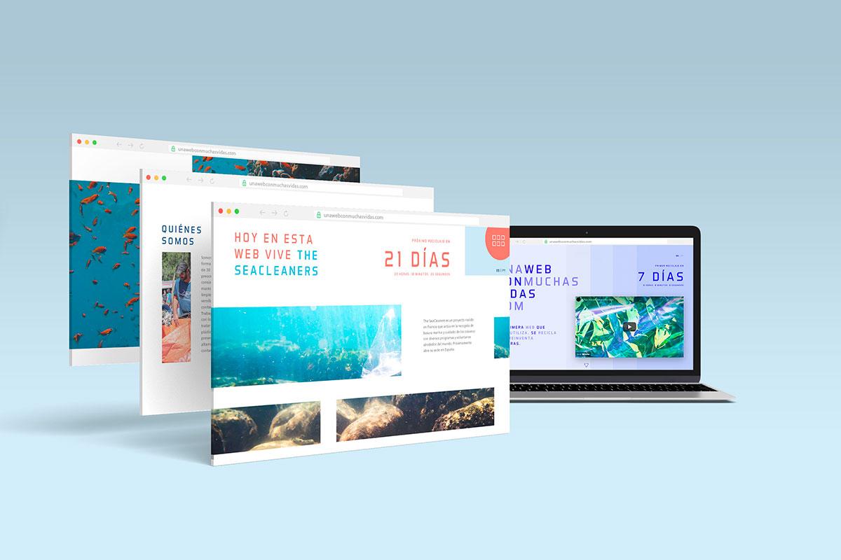 """The SeaCleaners, nuevo protagonista del proyecto """"unawebconmuchasvidas.com"""""""