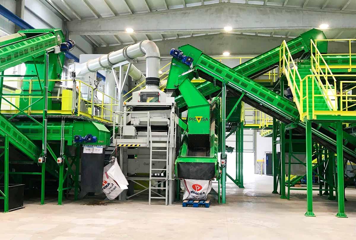 Calaf Grup culmina el proyecto LIFE PST SORT, una tecnología  de recuperación de residuos que generará entre 50 y 100 M€ de ingresos anuales al sector del reciclaje europeo